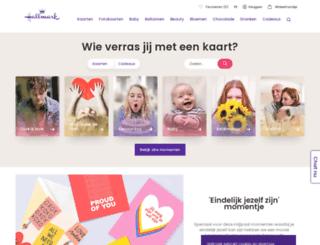 nl.hallmark.be screenshot
