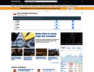 nl.investing.com screenshot