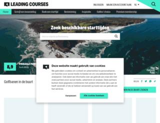 nl.leadingcourses.com screenshot