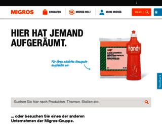 nl.migros.ch screenshot