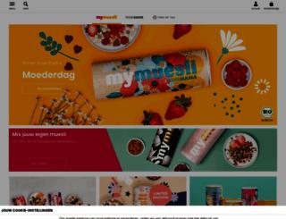 nl.mymuesli.com screenshot