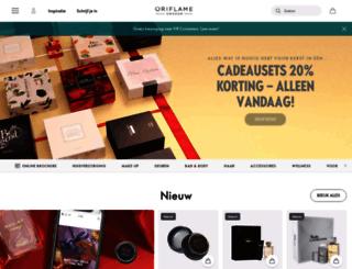 nl.oriflame.com screenshot