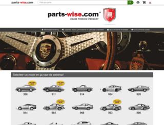 nl.parts-wise.com screenshot