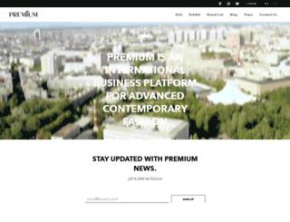nl.premiumexhibitions.com screenshot