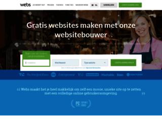 nl.webs.com screenshot