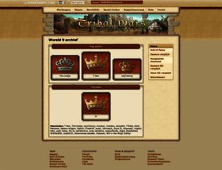 nl9.tribalwars.nl screenshot