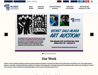 nlada.org screenshot