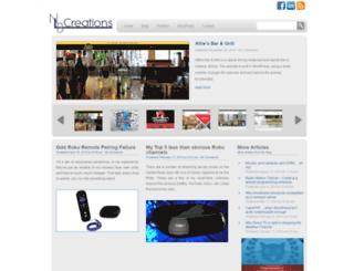 nlb-creations.com screenshot