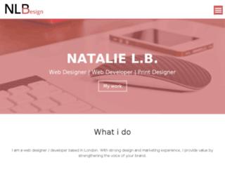 nlbdesign.co.uk screenshot