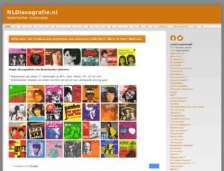 nldiscografie.nl screenshot