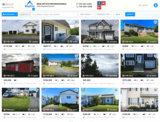 nlhouses.com screenshot