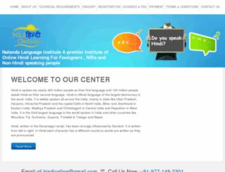 nlihindionline.com screenshot