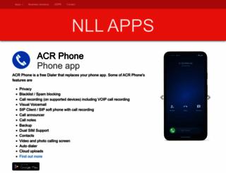 nllapps.com screenshot