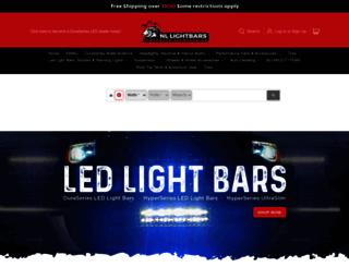 nllightbars.com screenshot