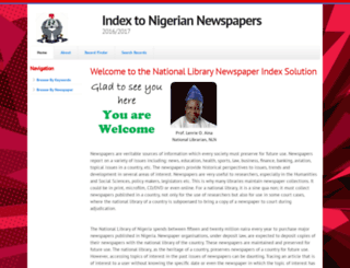 nlnewspaperindex.info screenshot