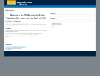 nlnonlinetesting.org screenshot