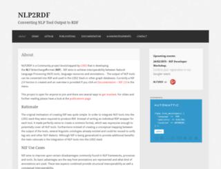 nlp2rdf.org screenshot