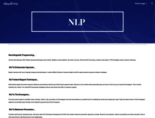 nlp4all.org screenshot