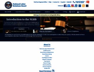 nlrb.gov screenshot