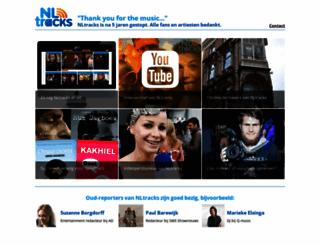 nltracks.nl screenshot