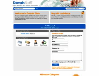 nma.co.uk screenshot