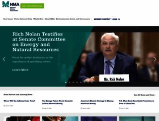 nma.org screenshot