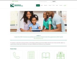 nmas.medscheme.com screenshot
