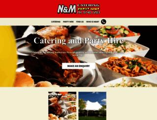 nmcatering.com.au screenshot