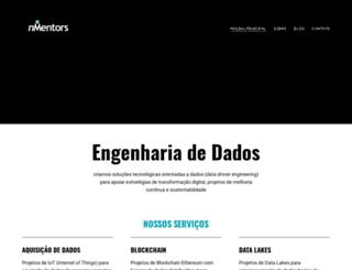 nmentors.com.br screenshot