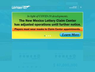 nmlottery.sks.com screenshot
