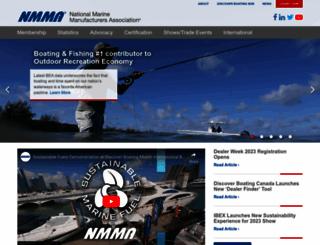 nmma.org screenshot