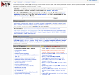 nmrwiki.org screenshot
