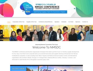 nmsdcconference.com screenshot