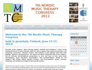 nmtc2012.fi screenshot