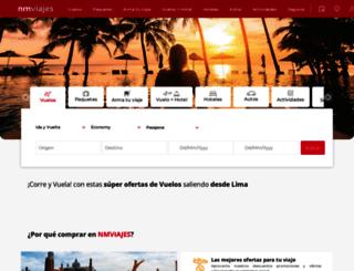 nmviajes.com screenshot