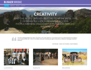 nmx.bloggerbridge.com screenshot