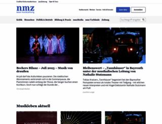 nmz.de screenshot