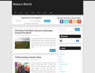 nnatureworld.blogspot.co.uk screenshot