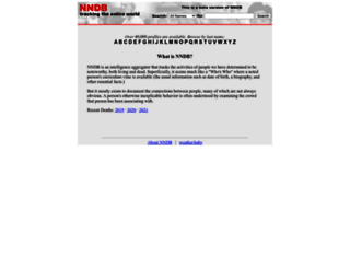nndb.com screenshot
