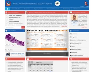 nnfsp.gov.np screenshot