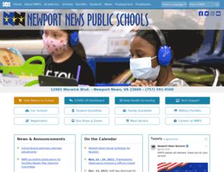 nnschools.org screenshot