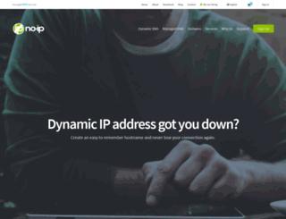 no-ip.co.uk screenshot