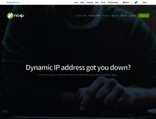 no-ip.com screenshot