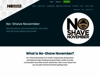 no-shave.org screenshot