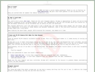 no-www.org screenshot