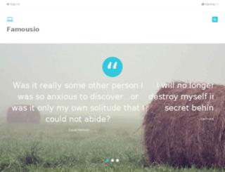 no.famousio.com screenshot