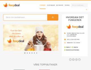 no.foxydeal.com screenshot