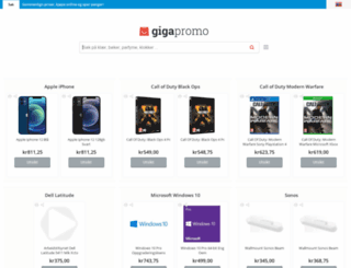 no.gigapromo.com screenshot
