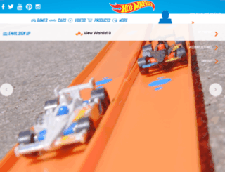 no.hotwheels.com screenshot