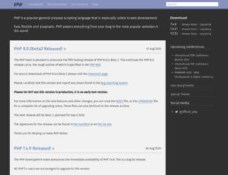 no.php.net screenshot